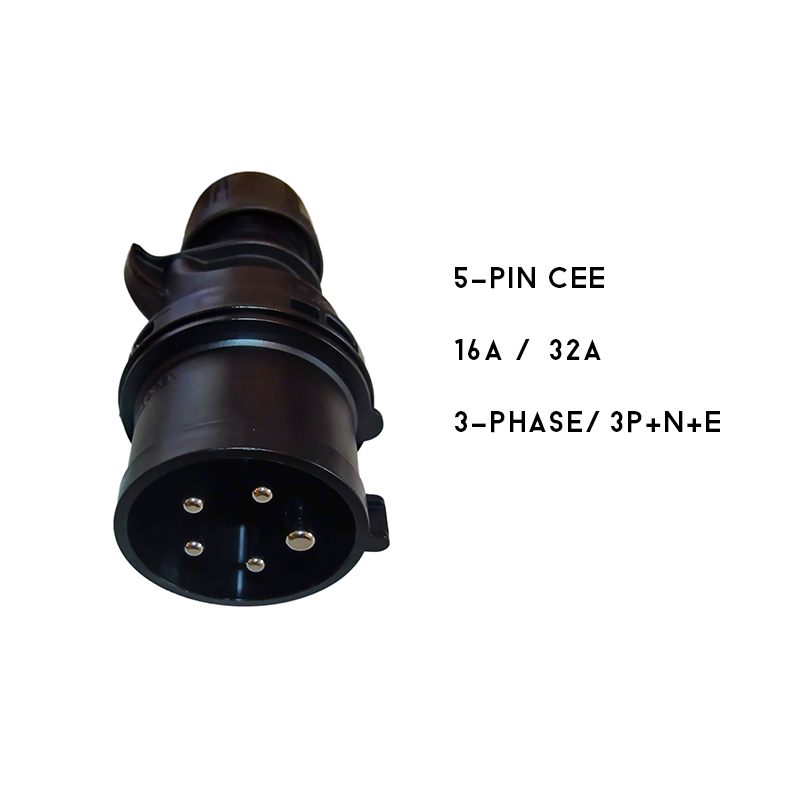 9 [PC05A] Type2/CEE (3x16A, 3-phase)