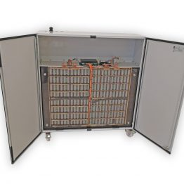 High-capacity storage battery 21,6 kWh