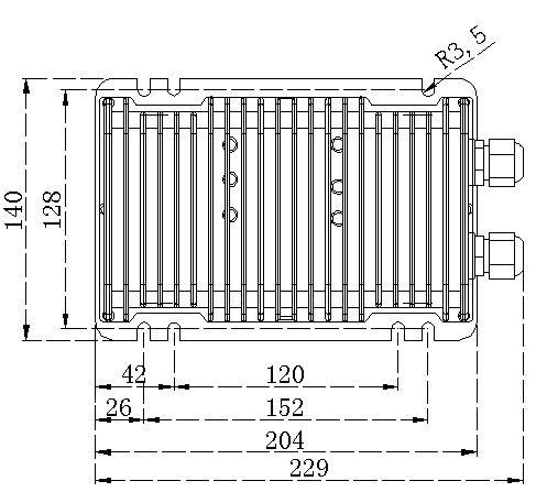 DC-DC installation schematic