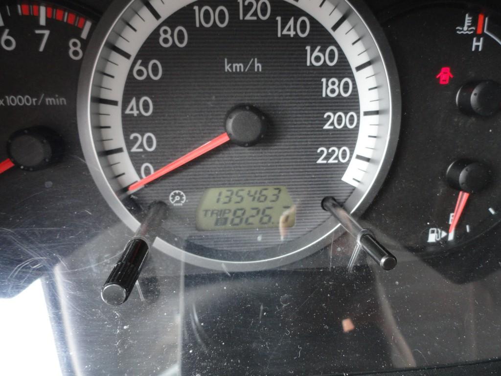 Kilometers driven