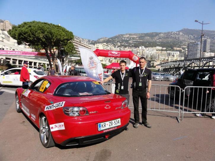 Bolt joined Rallye Monte Carlo des energies nouvelles 24.3.2012