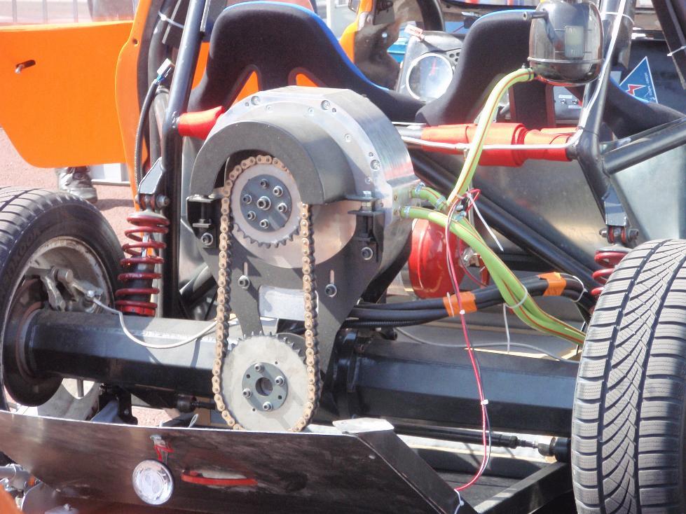 Pure power - car made by Universite de technologie de Belfort-Montbeliard