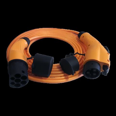 Polnilni kabel Tip 1 na Tip 2