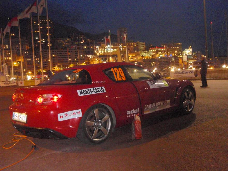 Technical inspection on friday evening - commisares were quite strict