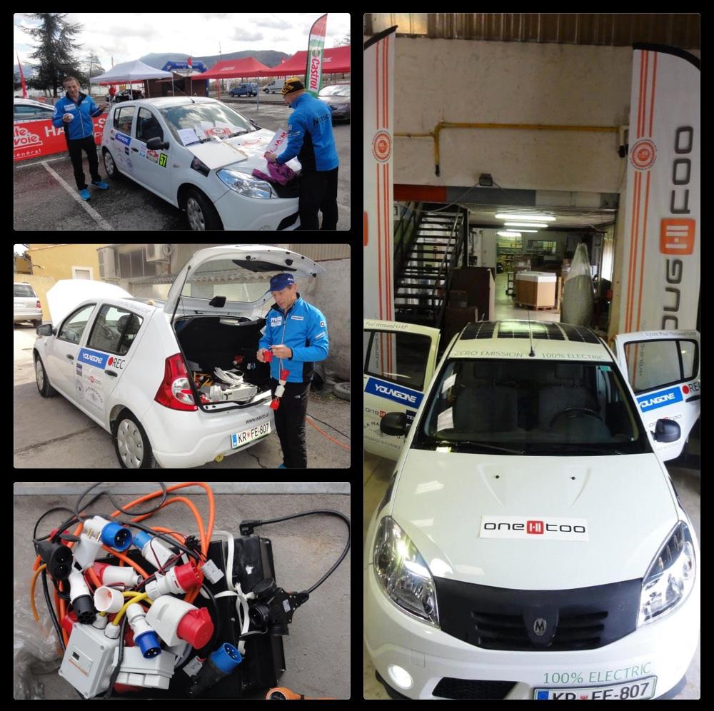 Dacia med pripravami