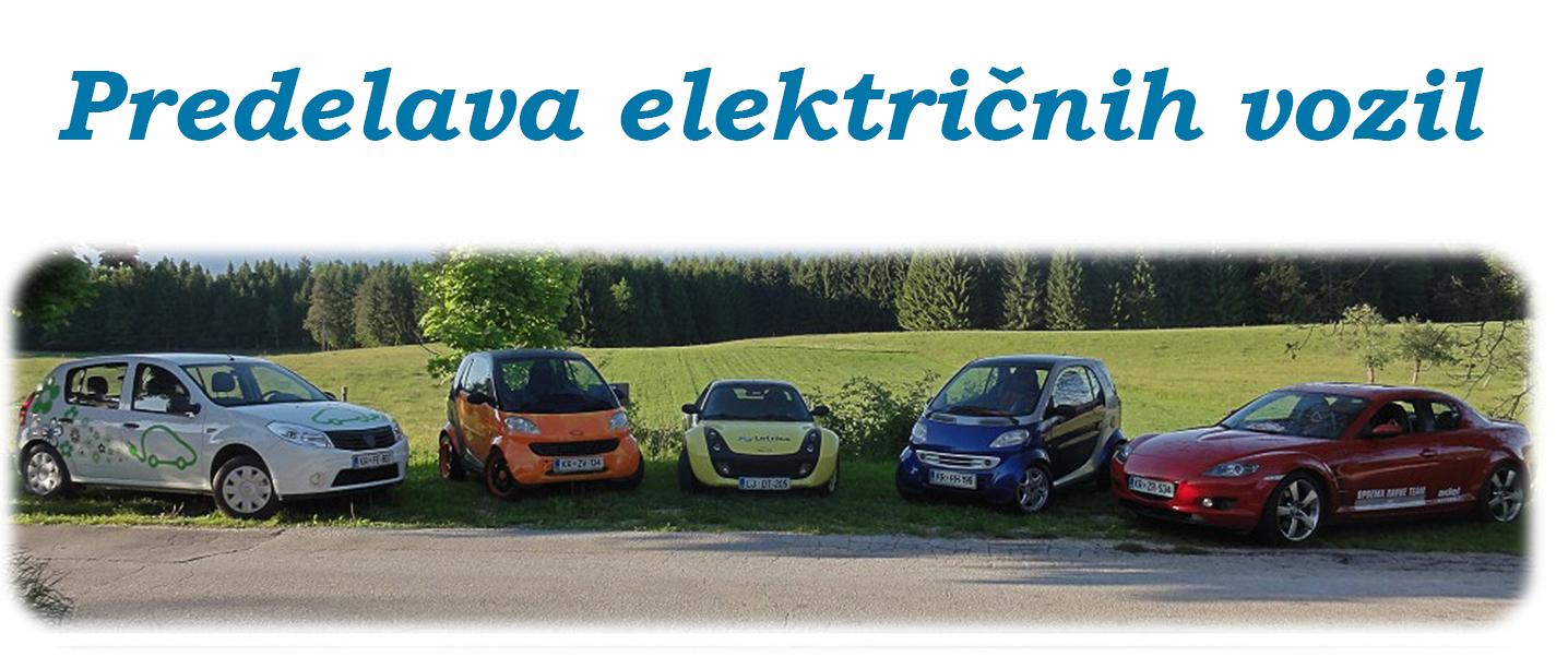 Predelava električnih vozil
