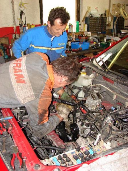 Demontaža Wanklovega motorja