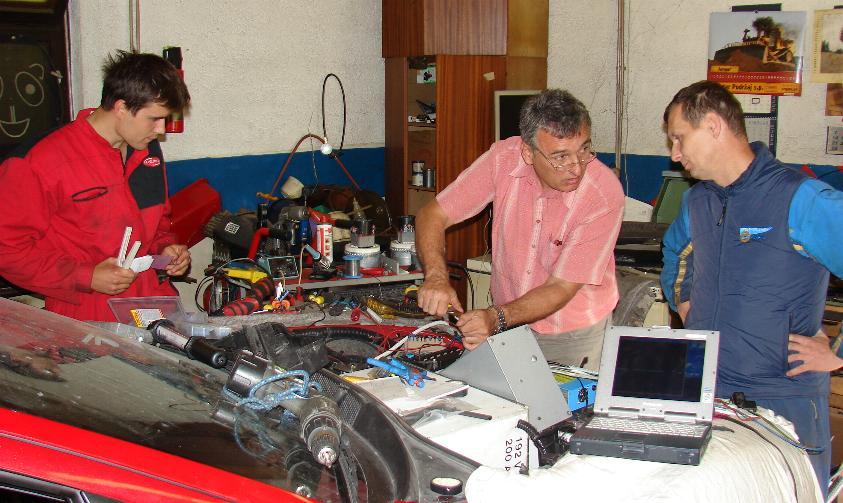 7.9.2009 zadnja dela na elektroniki
